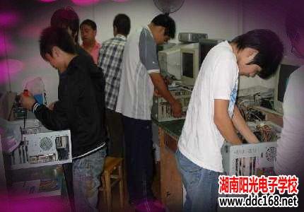 电脑芯片级维修实战班